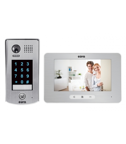 Wideodomofon WiFi EURA VDP-39A5